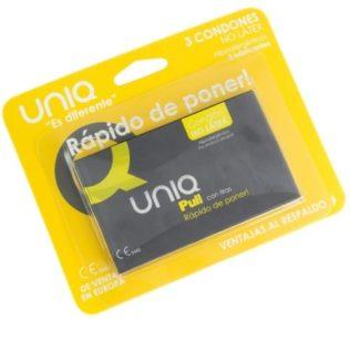 UNIQ PULL FREE LATEX 3UDS