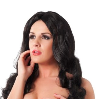 Kayla (Peluca pelo largo negro)