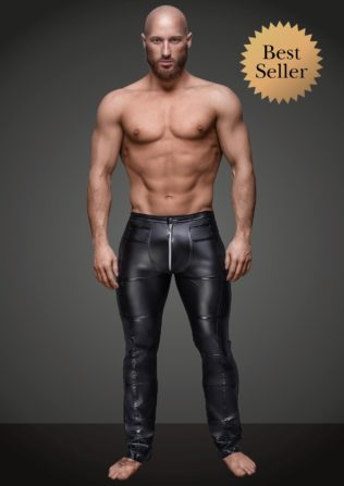 H021 Pantalon largo Wetlook